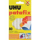 Подушечки клеящие уп 80 шт UHU patafix 620004 10*10 мм