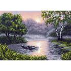 Рисунок на канве МП (37*49 см) 1490 «Вечерняя зорька»