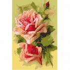 Схема для вышивания ДК-323 А3 «Розовые розы» 30*40 см
