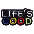 Термоаппликация AD1413 «Life's good»
