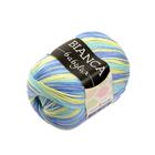 Пряжа Бьянка Бэби люкс (Bianka Babylux), 50 г / 150 м, 369 желт.+голуб.+синий