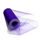 Фатин TBY.С в шпульках шир. 150 мм  (уп. 22,86 м) блестящий 12 фиолетовый