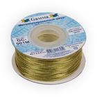 Шнур декор. GC-001M 1 мм (уп. 45,7 м) золото
