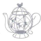 Металлическая SCB271038 чайник с птичкой  30,5*18,5см 7713857