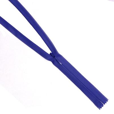 Молния Т3 п/потайные YKK 60 см 067 т.-синий в интернет-магазине Швейпрофи.рф