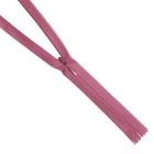 Молния Т3 п/потайные YKK 60 см 069 гр. розовый