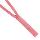Молния Т3 п/потайные YKK 60 см 070 гр. розовый