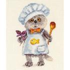 Набор для вышивания Алиса 0-182 «Басик шеф повар»