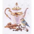 Набор для вышивания Алиса 5-21 «Ценитель кофе»