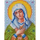 Набор для вышивания бисером Вертоградъ B734 «Пр. Богородица Умиление» 10*13 см
