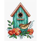 Набор для вышивания М.П.Студия М-366 «Воробьиный дом»