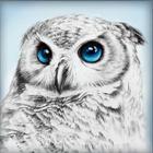 Алмазная мозаика АЖ-1549  «Взгляд совы»