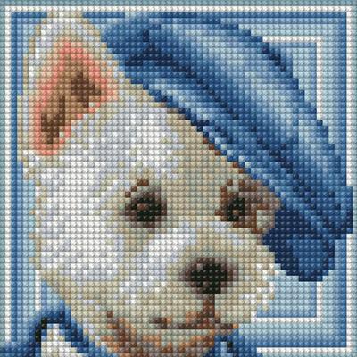 Алмазная мозаика АЖ-1570  «Вестик» в интернет-магазине Швейпрофи.рф
