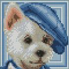 Алмазная мозаика АЖ-1570  «Вестик»
