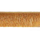 Бахрома 0390-0310 120 мм (уп. 25 м) 189 бежевый/золотой