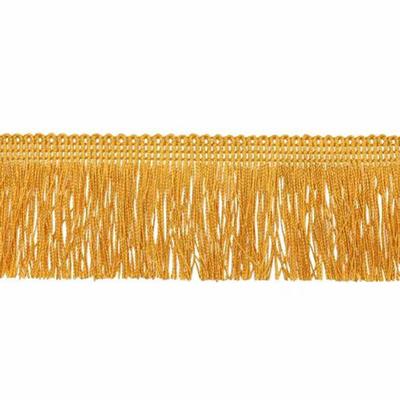 Бахрома 0390-0310 120 мм (уп. 25 м) 848 золотистый в интернет-магазине Швейпрофи.рф