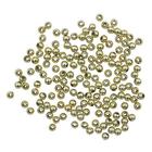 Бусины Астра 7722537 пластик. металл. 4 мм (уп 15 гр) золото