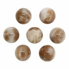 Бусины из смолы, имитация камня 11мм 551859 «Агат» (уп 10 шт)