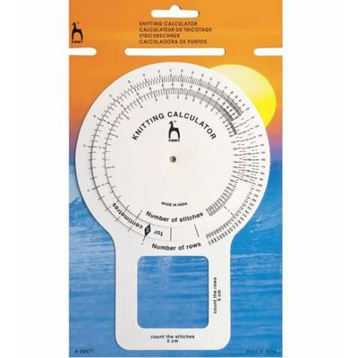 Калькулятор для вязания PONY 60671 13,5*20 см в интернет-магазине Швейпрофи.рф