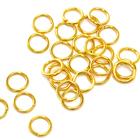 Кольцо для бус FAYCRAFT JRC-5 5 мм уп. 24 шт. золото