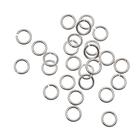 Кольцо для бус FAYCRAFT JRC-5 5 мм уп. 24 шт. серебро