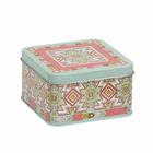 Коробка для мелочей MSB-04 05 «Индейский орнамент» металл 11*11*6,3 см