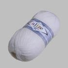 Пряжа Лана голд 800 (LanaGold ) 100 г / 800 м,  055 белый