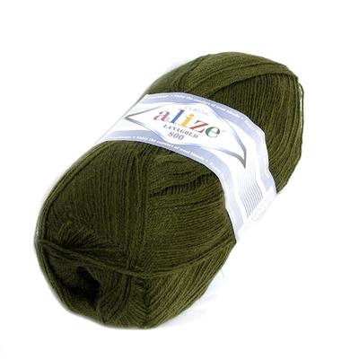 Пряжа Лана голд 800 (LanaGold ) 100 г / 800 м, 029 хаки в интернет-магазине Швейпрофи.рф