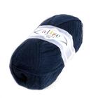 Пряжа Лана голд 800 (LanaGold ) 100 г / 800 м, 058 т. синий