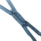 Молния Т7 разъемн. спираль G-1052 (2-х зам.)  90 см №309 т.серый