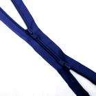 Молния Т7 разъемн. спираль G-1052 (2-х зам.)  90 см №318 синий