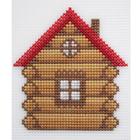Набор для вышивания HP Kids П-0015 «Избушка» 13*17 см
