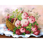 Набор для вышивания бисером ЧМ Б0753 «Корзина цветов»
