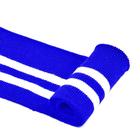 Подвяз трикотажный п/э ГД15044 13*125см синий/белый