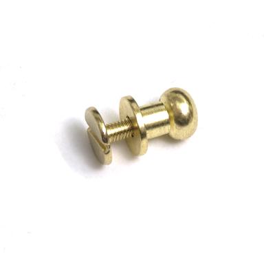 Винт для ремня  7,5 мм кобурный (уп. 20 шт.) золото 545143 в интернет-магазине Швейпрофи.рф