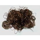 Волосы для кукол (кудри) L47-50 см h25-28 см каштановый