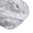 Шерсть для валяния натуральный шелк 100%  (уп. 50 г) 0001 белый