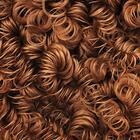 Волосы для кукол (кудри) HAR-1 каштановый уп.70 гр.
