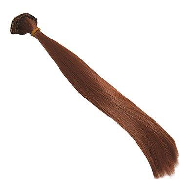 Волосы для кукол (трессы) L=30 см (уп. 2 шт.) каштан 22566, 494853 в интернет-магазине Швейпрофи.рф