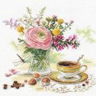 Набор для вышивания Алиса 5-18 «Утренний кофе»