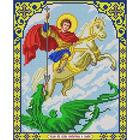 Рисунок для вышивания бисером Благовест 20*25 см И-4009 Георгий Победоносец