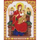 Рисунок для вышивания бисером Благовест 20*25 см И-4061 Св. Б. Всецарица
