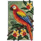 Набор для вышивания бисером Кларт 8-144 «Попугай» 12*17 см