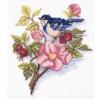 Набор для вышивания Кларт 8-247 «Ветка шиповника»