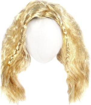 Волосы для кукол QS-12 10 см