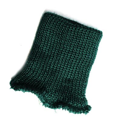 Манжеты трикотаж п/ш 10 см Г т.зелёный в интернет-магазине Швейпрофи.рф
