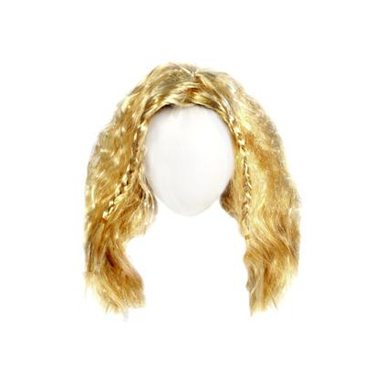 Волосы для кукол Парик QS-12 10 см блонд в интернет-магазине Швейпрофи.рф