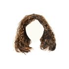 Волосы для кукол Парик QS-12 10 см каштановый