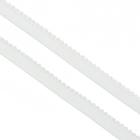 Резинка Тайвань 10 мм (уп. 100 м) бел.