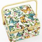 Шкатулка RТ-3971 квадрат «Бабочки»